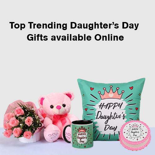 Top Trending Daughter's Day Gifts available Online